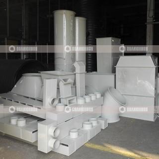 Воздуховоды (вентиляция) из полипропилена